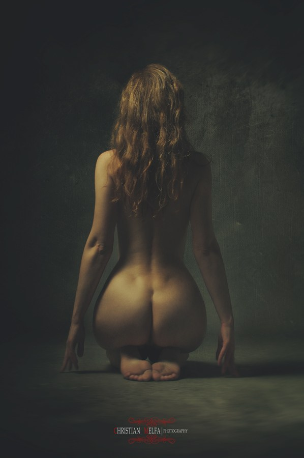 Sensual Alternative Model Photo by Photographer Christian Melfa