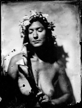 Sensual Chiaroscuro Photo by Model erin elizabeth