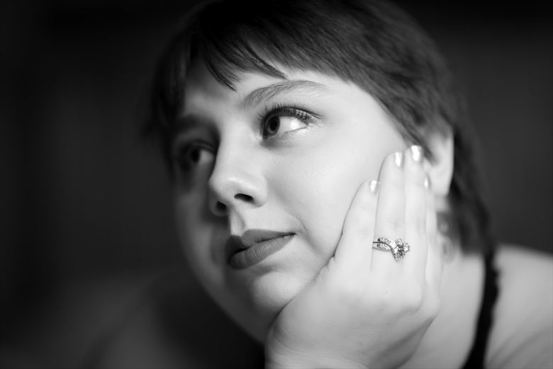 Sensual Close Up Artwork by Model Aisling Raine