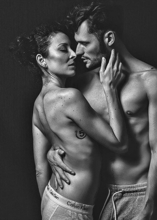 Sensual Couples Artwork by Model Just Ana