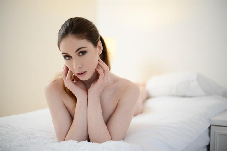 Sensual Expressive Portrait Photo by Model Elle Beth