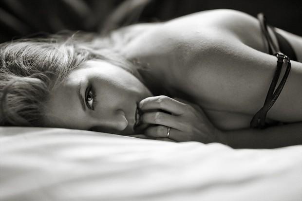 Sensual Expressive Portrait Photo by Model Katz Pajamaz