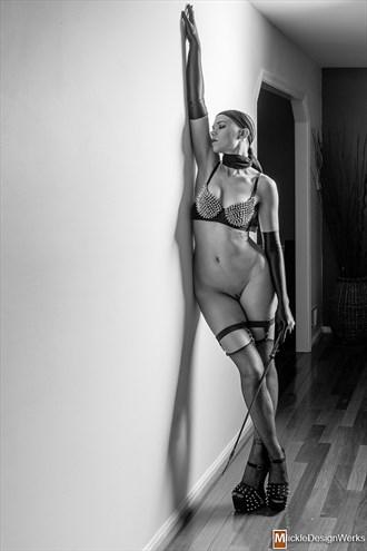 Sensual Figure Study Photo by Model Cassis Bernadette