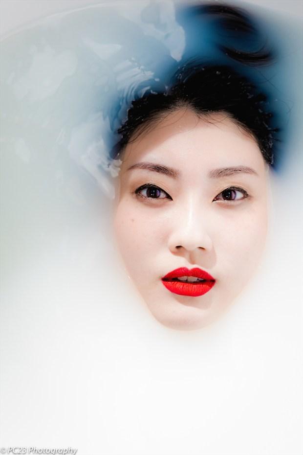 Sensual Glamour Artwork by Model Sonya Lynn