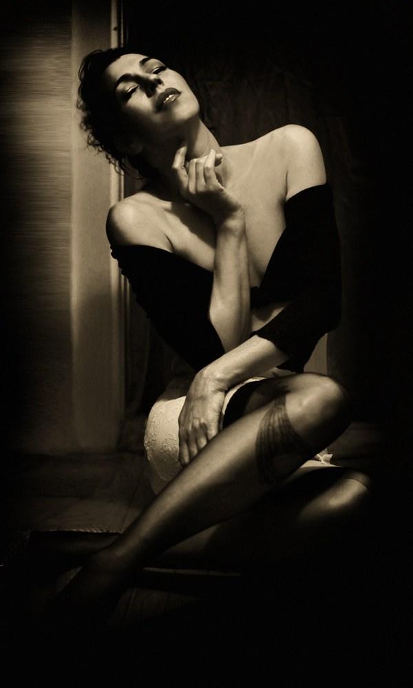 Sensual Glamour Photo by Model Jen B E