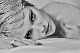 Sensual Implied Nude Photo by Model Adrien Michaels