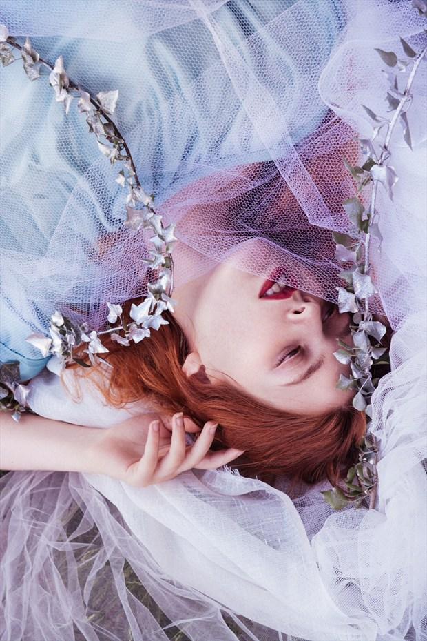 Sensual Portrait Photo by Model Queen Dandelion