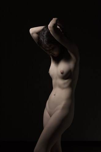 Sensual Pose Artistic Nude Photo by Photographer Enrico Garofalo