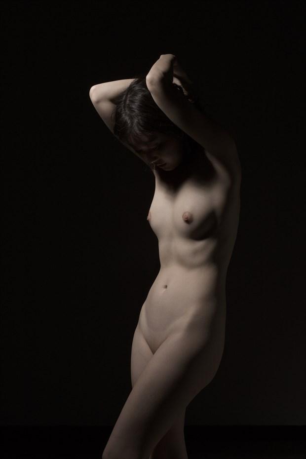 Sensual Pose Artistic Nude Photo by Photographer Enrico Garofalo