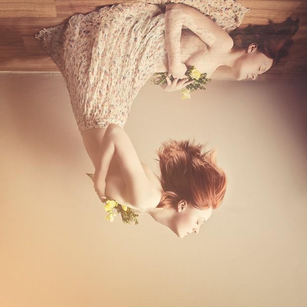 Sensual Self Portrait Photo by Photographer annapozarycka