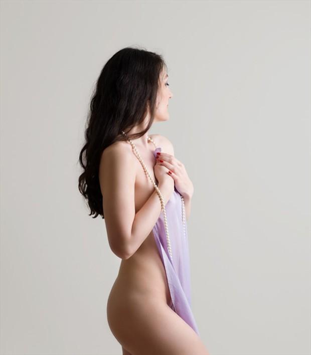 Sensual Studio Lighting Photo by Model Rose Valentina