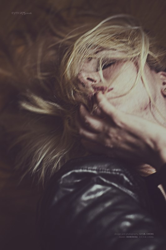 Sensualite.. Portrait Photo by Model Nika