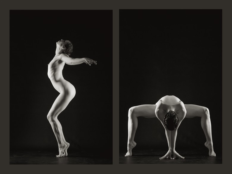 Sequence Four Artistic Nude Photo by Photographer Mark Bigelow