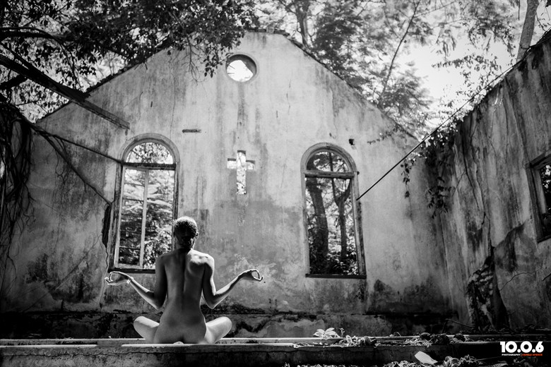 Serenity... Artistic Nude Artwork by Photographer Orville Spence