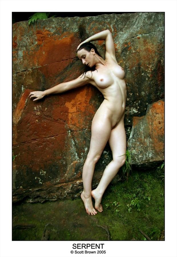 Serpent Artistic Nude Artwork by Photographer Scottb