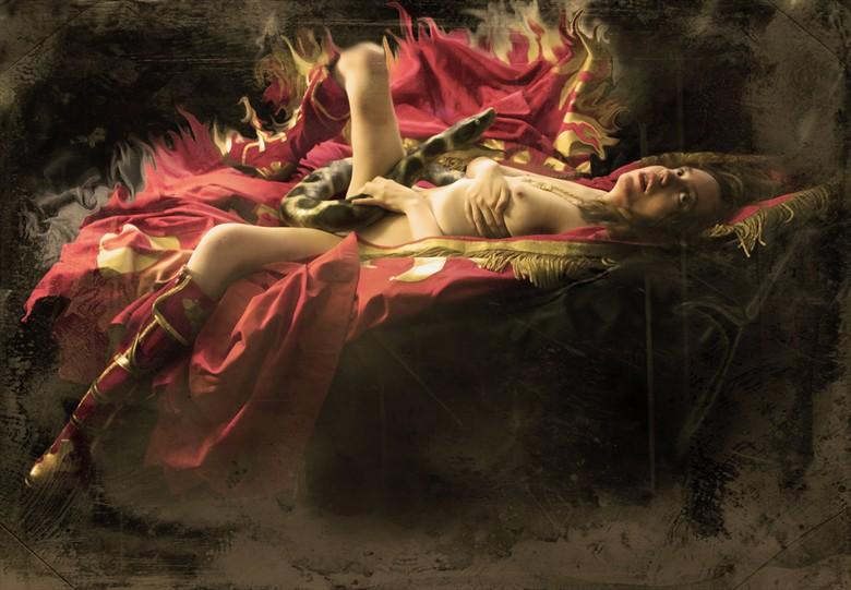 Serpent Magic II Artistic Nude Photo by Model Jocelyn Woods