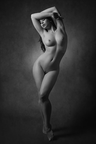Serpentine Artistic Nude Photo by Photographer Mick Waghorne