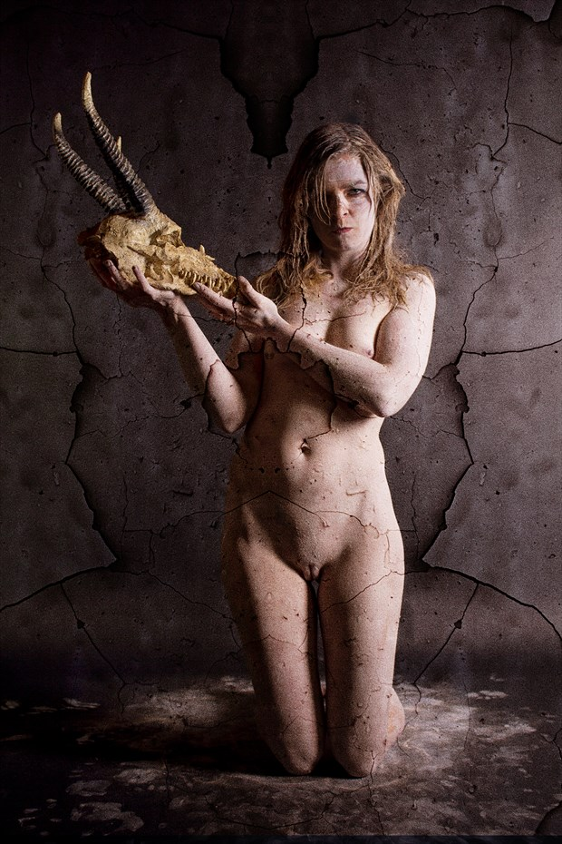 Serving the horned god Surreal Photo by Artist Hybryds