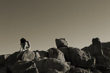Set In Stone Artistic Nude Photo by Photographer David Winge