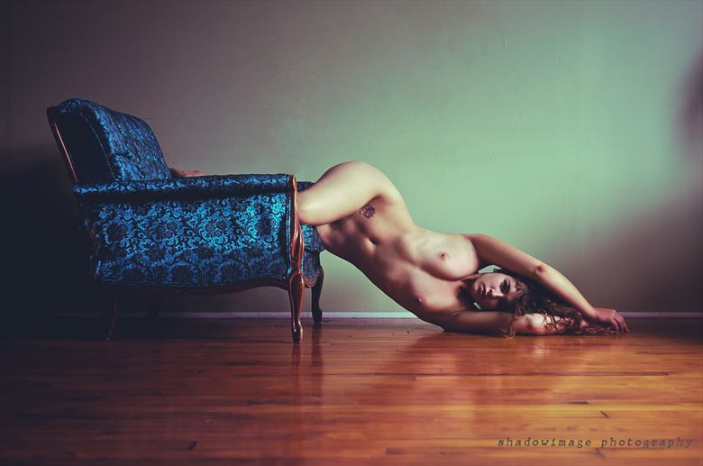 Shadow Image Artistic Nude Photo by Model Meghan Claire