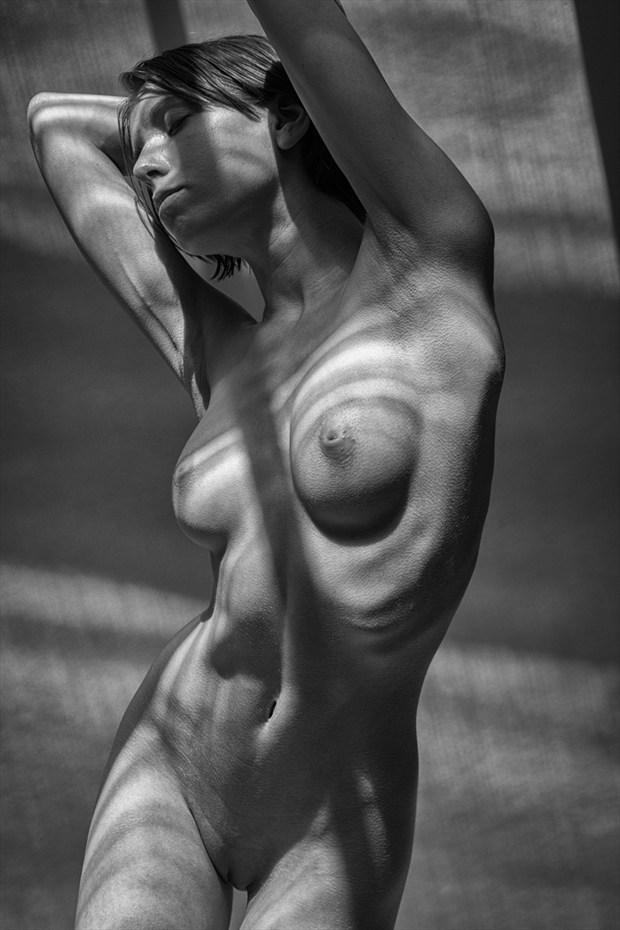 Shadows   Mono Artistic Nude Photo by Photographer rick jolson
