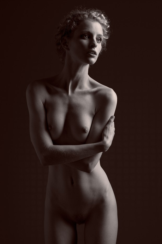 Shadows Artistic Nude Photo by Photographer Daniel Hubbert