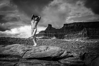 Shafer Trail Artistic Nude Photo by Artist April Alston McKay
