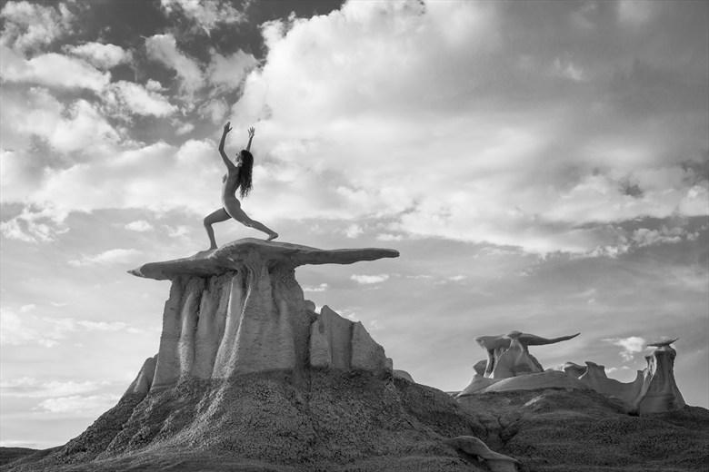Shaman Artistic Nude Photo by Photographer Inge Johnsson
