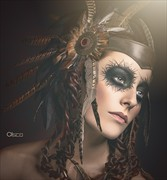 Shamanic Beauty Alternative Model Photo by Photographer Cisco
