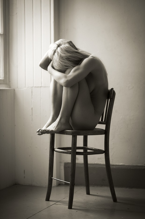 Shame Artistic Nude Photo by Photographer John Logan