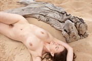 Shaped by the Waves Artistic Nude Photo by Model Mila