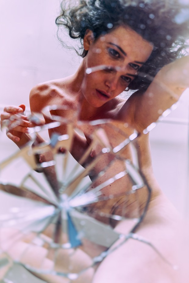 Shattered Artistic Nude Photo by Photographer Stef D