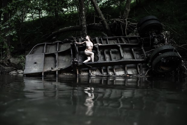 She's a wreck Artistic Nude Photo by Photographer DaveMylesPhotography
