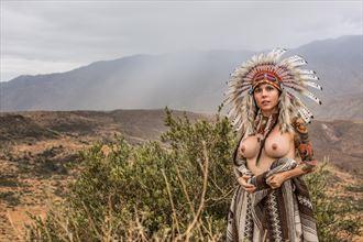 She Warrior Artistic Nude Photo by Photographer Revo