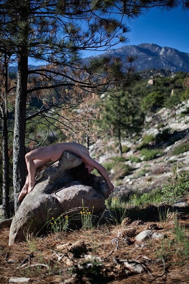 She became a rock Artistic Nude Artwork by Model Lavanya Maya