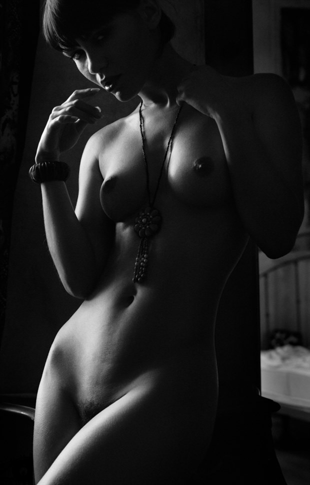 She rides the night Artistic Nude Photo by Photographer MikePFotografie
