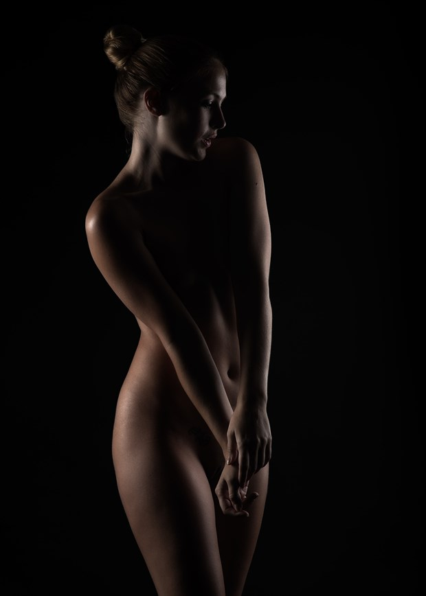 She talks with angels... Artistic Nude Photo by Photographer ImageThatPhotography