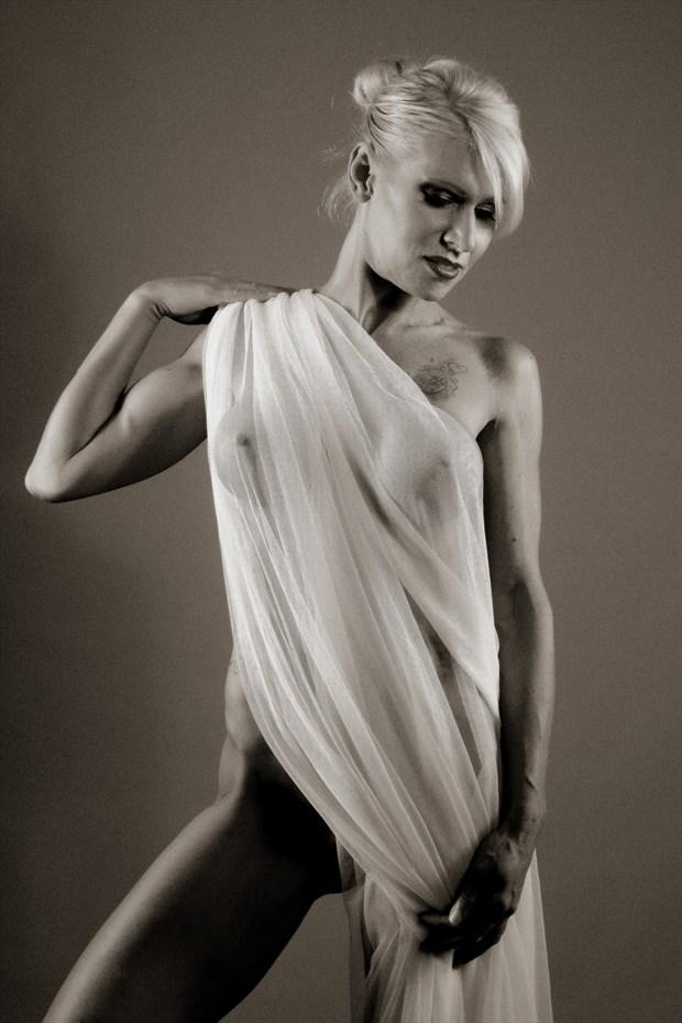 Sheer Honesty Artistic Nude Artwork by Model Phoenix Starr