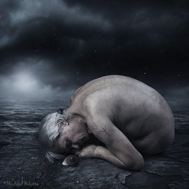 Shelter Me Artistic Nude Photo by Photographer Michael Bilotta