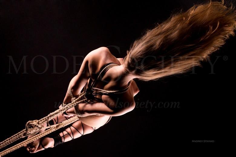 Shibari Artistic Nude Photo by Photographer Andrey Stanko