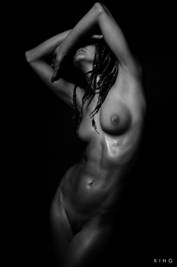 Shielded Artistic Nude Photo by Photographer Terry King