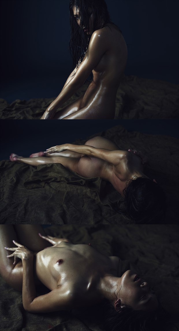 Shifting Artistic Nude Photo by Model IDiivil