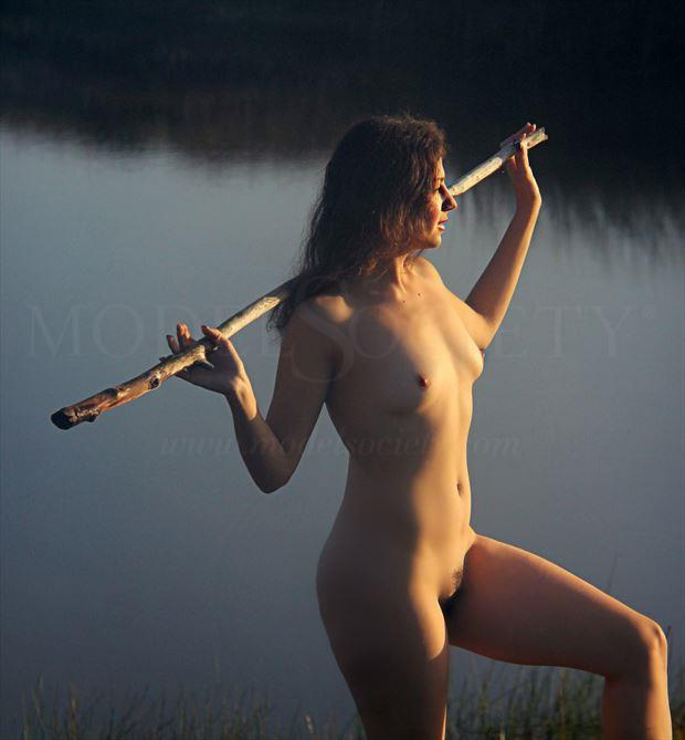 Shillelagh  Artistic Nude Photo by Artist AnneDeLion