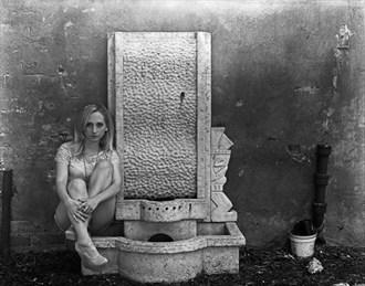 Shot on 4x5 Sensual Photo by Photographer Leland Ray