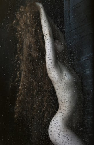 Shower Artistic Nude Photo by Model Caroline Madison