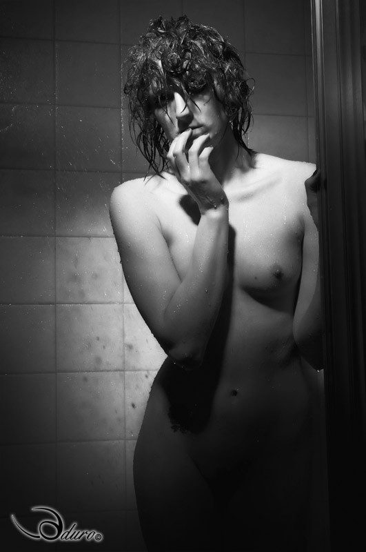 Shower Artistic Nude Photo by Photographer Aduro