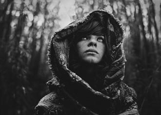 Siberian Stories: Howling Fashion Photo by Photographer Daria Pitak
