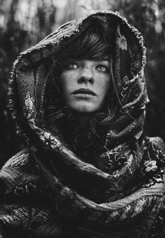 Siberian Stories: Memorial Fashion Photo by Photographer Daria Pitak
