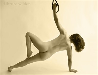 Side Plank Artistic Nude Photo by Photographer Bwilder