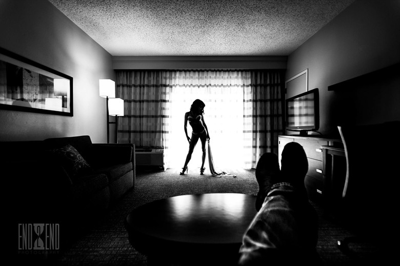 Silhouette Photo by Model Colby Fiore